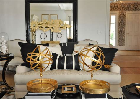 black and gold living room the together project living dining area