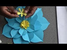 How To Make Flat Tissue Paper Flowers - 1000 ideas about paper flower on crepe