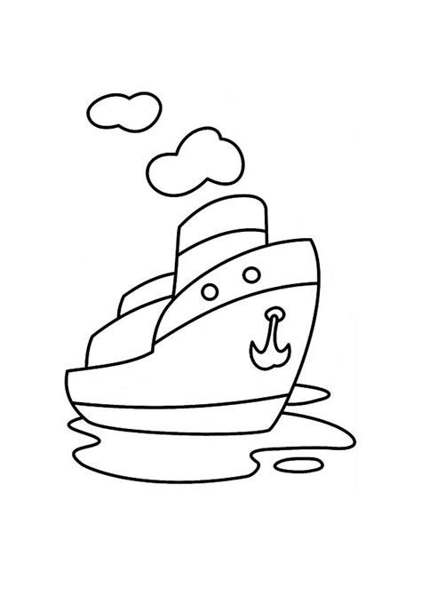 steamboat cartoon drawing steamboat coloring pages download and print for free