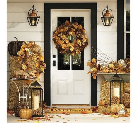 dress up your front porch with fall inspiration