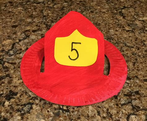 firefighter hat template preschool firefighter hat craft all network