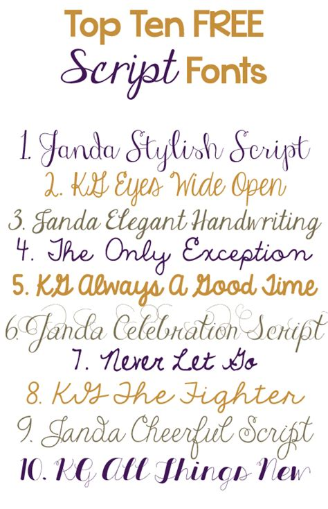 best script fonts top ten free script fonts just emily
