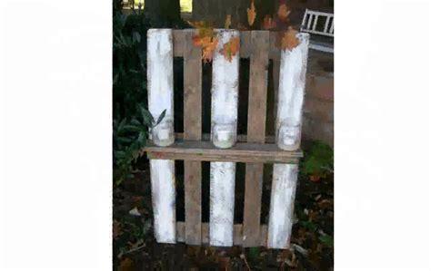 bett mit hintergrund steinwand - Kerzenständer Groß Holz