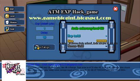 game mod ninja saga terbaru ninja saga hack atm exp gold terbaru maret 2012