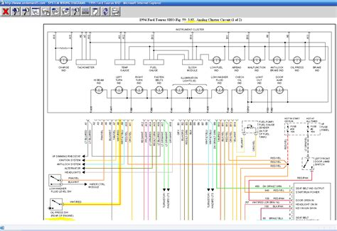 1995 ford taurus wiring diagram wiring diagram and 1995 ford taurus wiring diagram wiring diagram