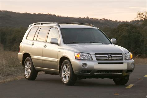 2007 toyota highlander hybrid 2007 toyota highlander hybrid emission issue news cars