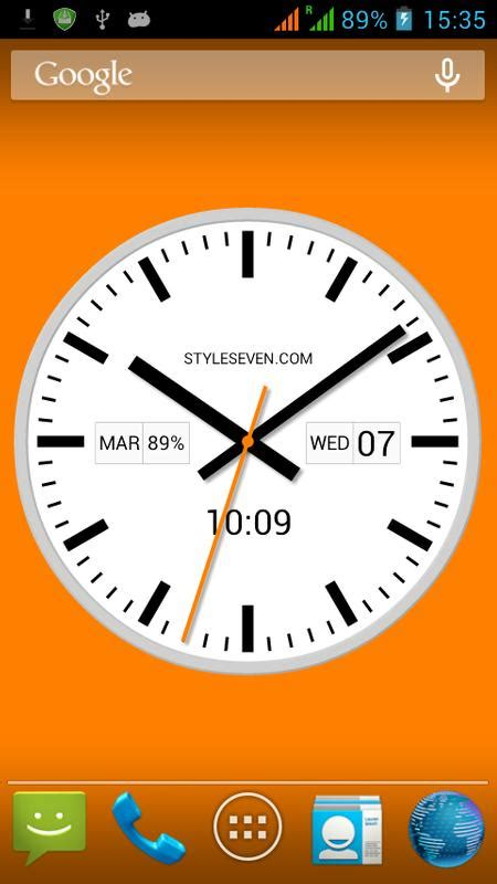 Swiss Time Analog Digital swiss analog clock 7 for android apk