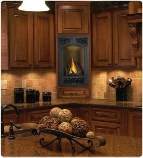 vent free gas fireplace cabinets natural gas corner fireplace foter