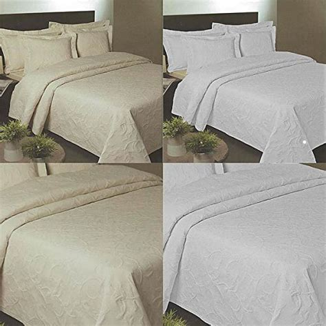 luxury matelasse coverlet heavyweight luxury cotton matelasse florentina bedspread