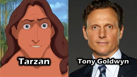 neve cbell behind the voice actors characters and voice actors tarzan youtube