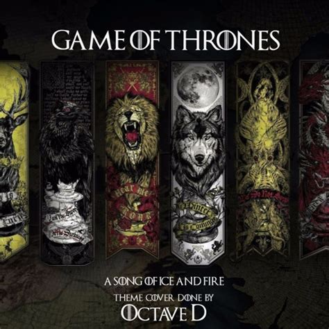 0006486118 a song of ice and quot a song of ice and fire quot game of thrones theme music by d
