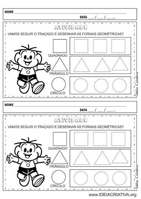 figuras geometricas atividades educação infantil 25 melhores ideias de formas geom 233 tricas pr 233 escolares no