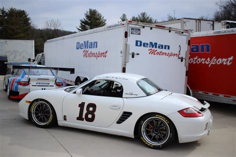 porsche race car 2008 porsche boxster s pca g class race car for sale