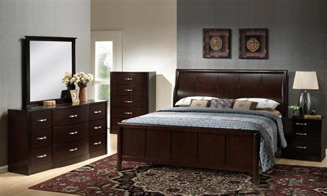 espresso bedroom sets global furniture usa hannah bedroom set dark espresso gf