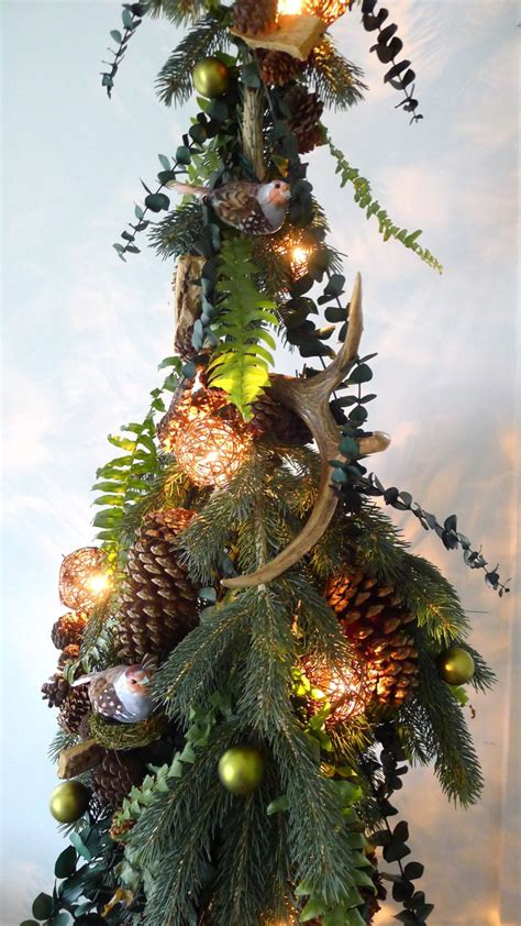 an urban cottage woodland themed christmas tree