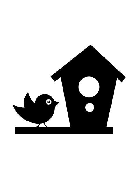 house silhouette bird silhouette gif images