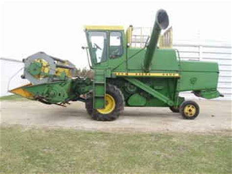 Used Farm Tractors For Sale John Deere 4400 Combine 1607