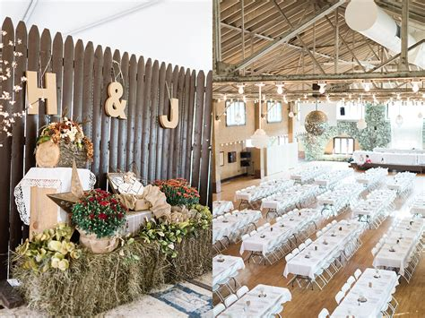 backyard wedding inspiration rustic country