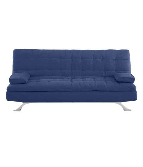 supersoft sofa bed blue buy at best price in india