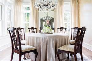 Dining Room Tablecloth Silk Tablecloth Dining Table With Chippendale Chairs