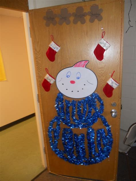 nasa christmas door decorating pics about space
