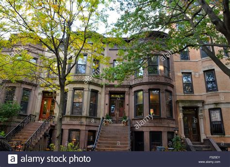 brownstone house nyc brownstone houses park slope brooklyn ny stock photo royalty free image 89173363 alamy
