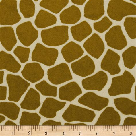 Giraffe Print Upholstery Fabric by Apparel Fashion Fabric Animal Pattern Fabric