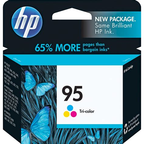 Hp 95 Color Cartridge hp 95 tri color inkjet print cartridge 7ml c8766wn 140 b h
