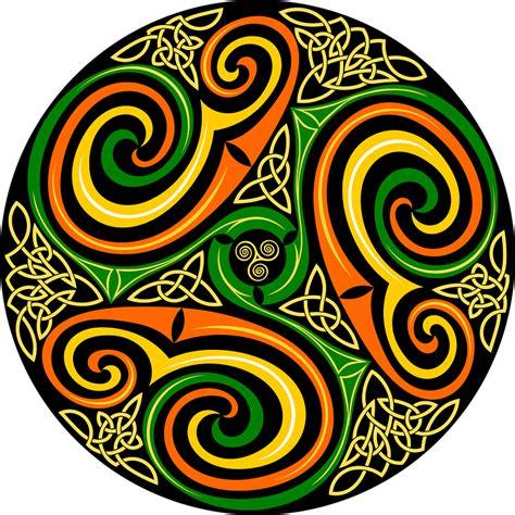 celtic colors free vector graphic celtic celts circle color free