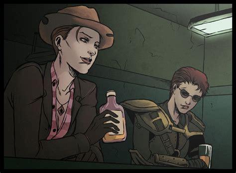 fallout new vegas cass art fallout drinking buddies by bagoflimbs on deviantart