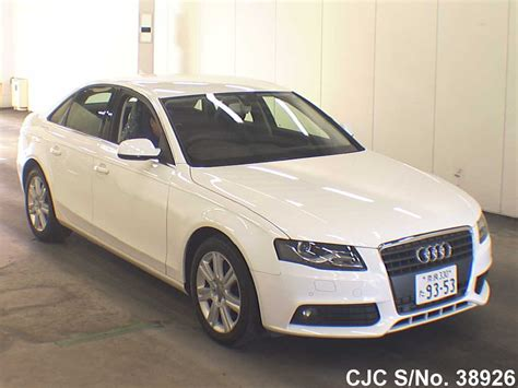 Audi A4 For Sale 2011 2011 Audi A4 White For Sale Stock No 38926 Japanese