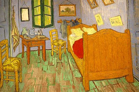 the bedroom of arles van gogh s sunflowers light on light see the world