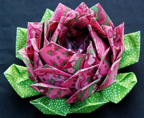 Paper Folding Lotus Flower - origami maniacs lotus flower
