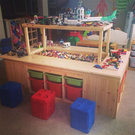 Lego Building Table With Storage by 17 Best Ideas About Lego Storage On Lego Table