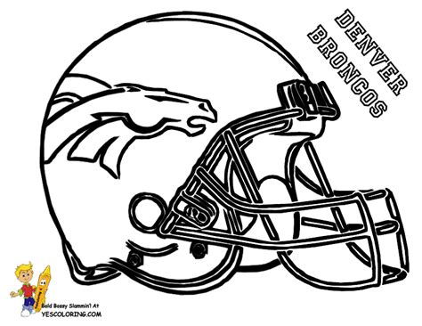 big stomp pro football helmet coloring nfl football