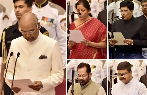 cabinet reshuffle nirmala sitharaman is defence minister