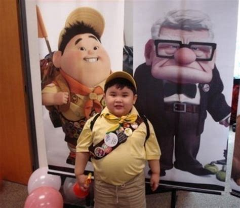 film up boy a real life russel from pixar s up geekologie