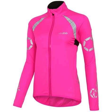windproof cycling vest wiggle com au dhb flashlight women s windproof jacket