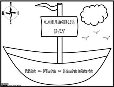 columbus day coloring pages for kindergarten best 25 columbus day ideas on pinterest what did