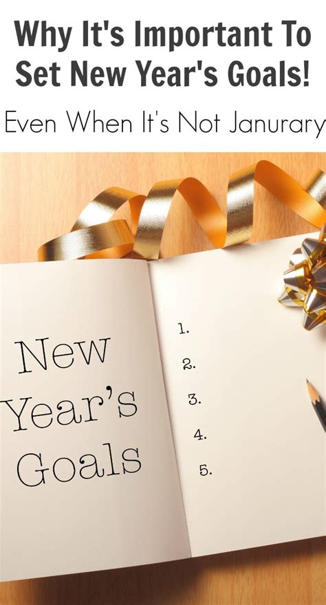 what is the importance of the new year why it s important to set new year s goals or resolutions