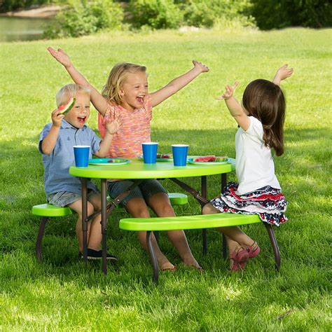 Lifetime Products Childrens Folding Picnic Table