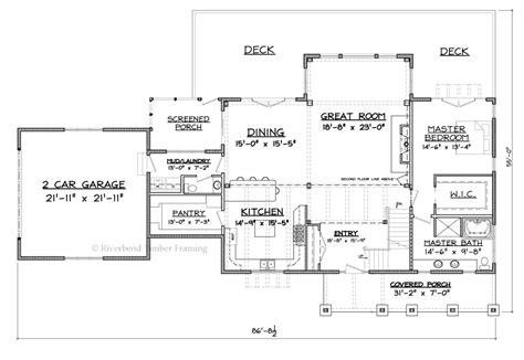 melody homes floor plans riverbend timber framing melody lane home plan