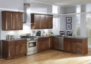 Kitchen Wall Colors With Oak Cabinets And Dark Countertop » Home Design 2017