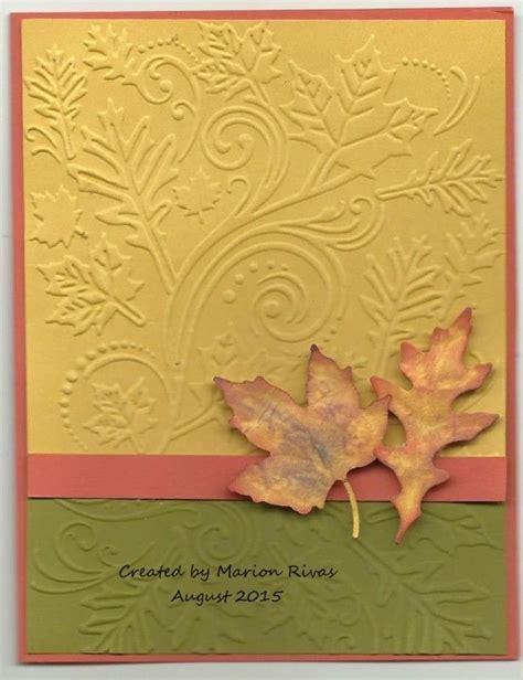 10 afbeeldingen over handmade autumn cards op pinterest