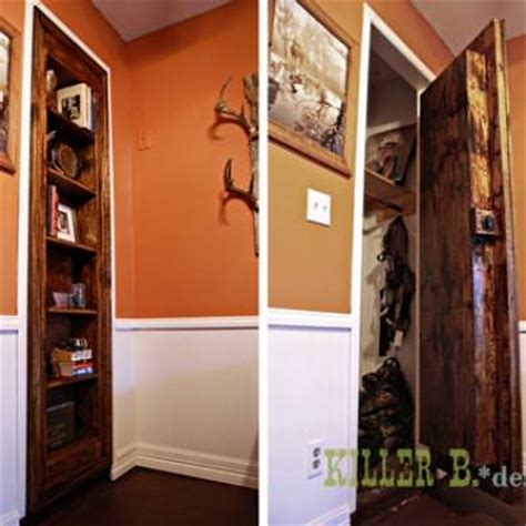 diy bookcase door secret bookcase door step by step tip junkie