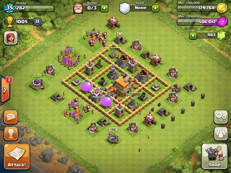 clash of clans war base 6 clash of clans base designs level 6 clash of clans wiki