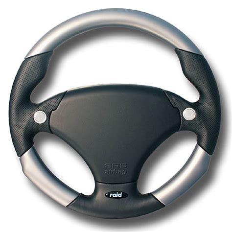 a volante volante deportivo con airbag 340mm daytona silber schwarz