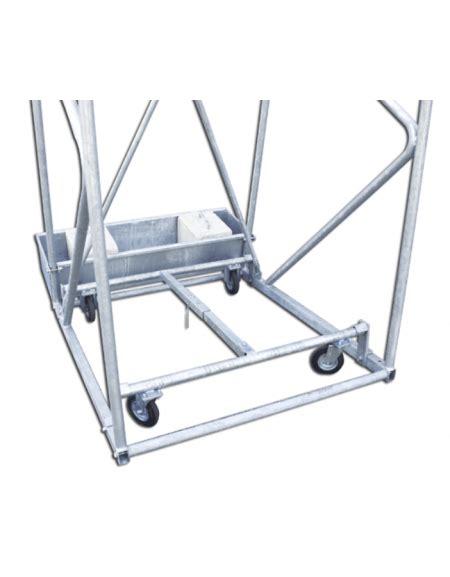 struttura a traliccio impianto minibasket a traliccio trasportabile struttura
