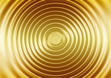 wave gold concentric waves  image  pixabay