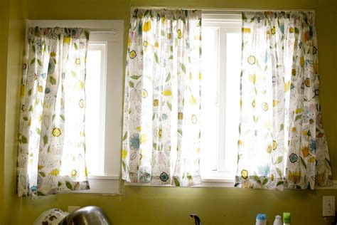kitchen curtains ikea ikea patterned curtains homesfeed